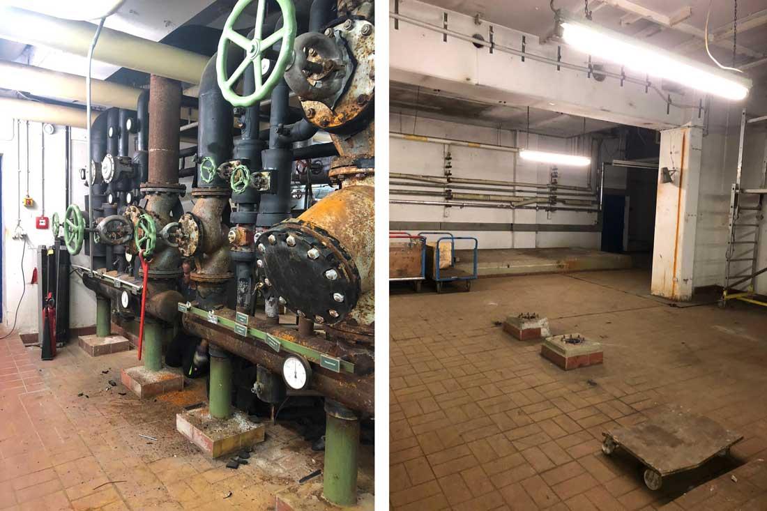 Rückbau und Demontage von Heizungsanlage | ESD Darmstadt