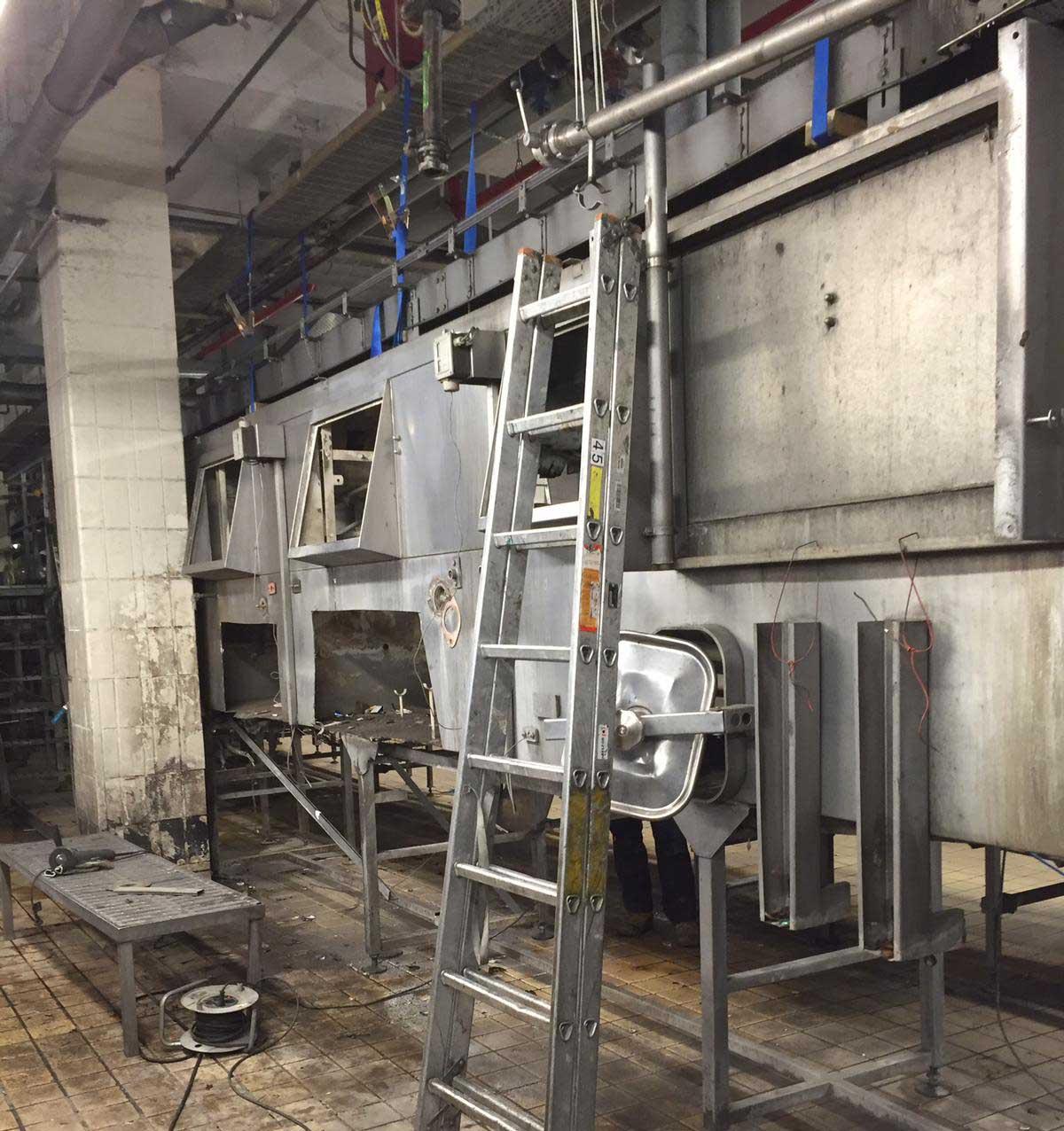 Demontage von Industrieanlage | ESD Darmstadt